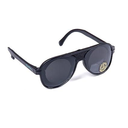 2f49fcb0ed4a Retro Classic Original Body Shaping Shade with Dial Sunglasses - Aviator  Style - NS005 - Black