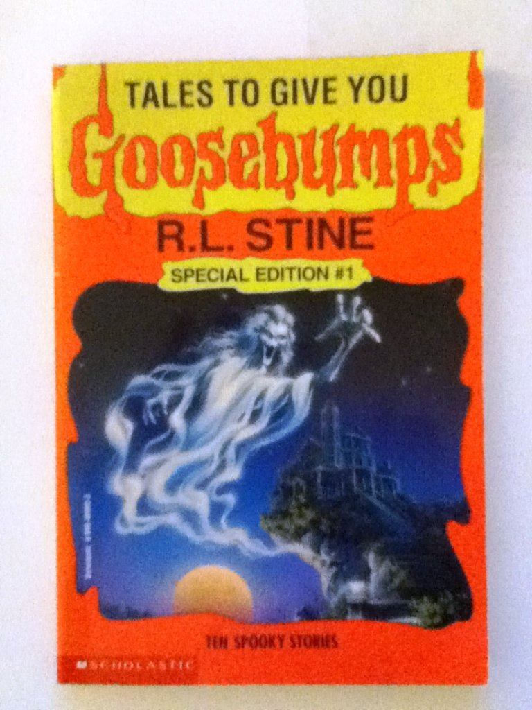Tales to give you goosebumps ten spooky stories r l stine tales to give you goosebumps ten spooky stories r l stine 9780590489935 amazon books fandeluxe Gallery