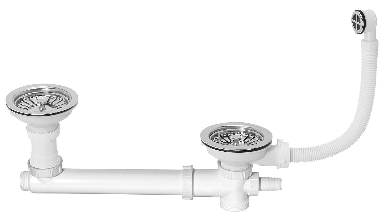 Wirquin SP265-2 agujeros de drenaje, conexión de lavadora ...