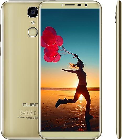Cubot X18 – 18: 9 5,7 Pulgadas Smartphone 4 G Android 7.0 sin ...