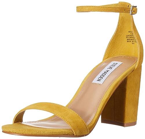 7bd6c3648c1 Steve Madden Women's Declair Heeled Sandal
