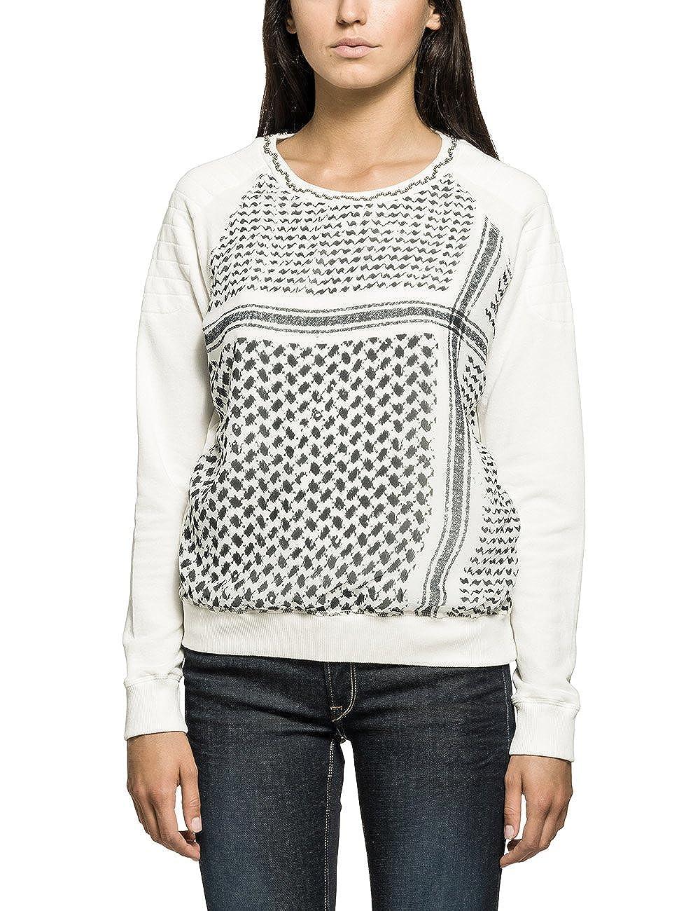 TALLA 36. REPLAY Sweater Sudadera para Mujer