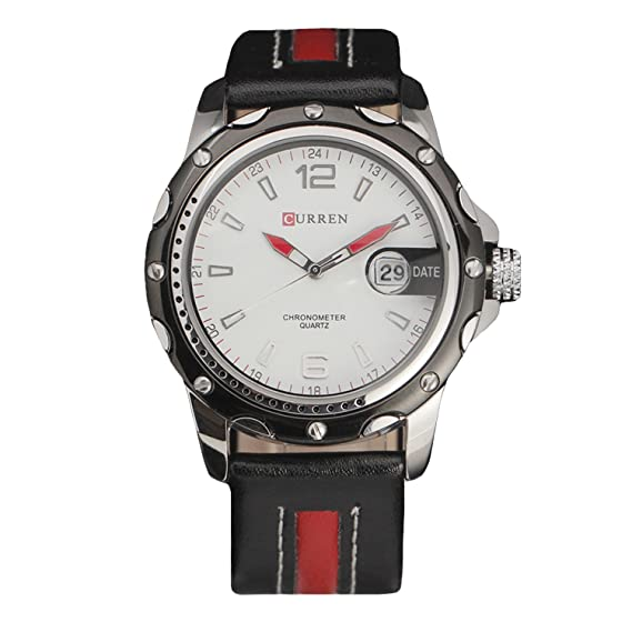 3f1c7058c6740e Image Unavailable. Image not available for. Color: New Curren Watches Men  Top Brand Fashion Quartz Watch Army Sports ...
