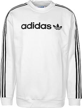 SudaderaHombreBlancoXs Linear Adidas Adidas Adidas Linear Crew Crew SudaderaHombreBlancoXs dxerBCo