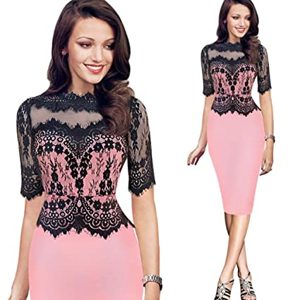 lantusi Women Casual Spaghetti Strap Sleeveless Solid Low Back Slim Dress Dresses
