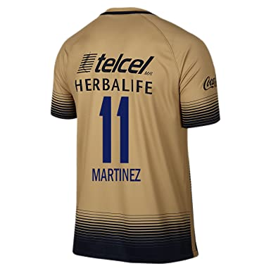 Image Unavailable. Image not available for. Color  Martinez  11 Pumas UNAM  Men Away Jersey 2015-2016 ... 3442aef37