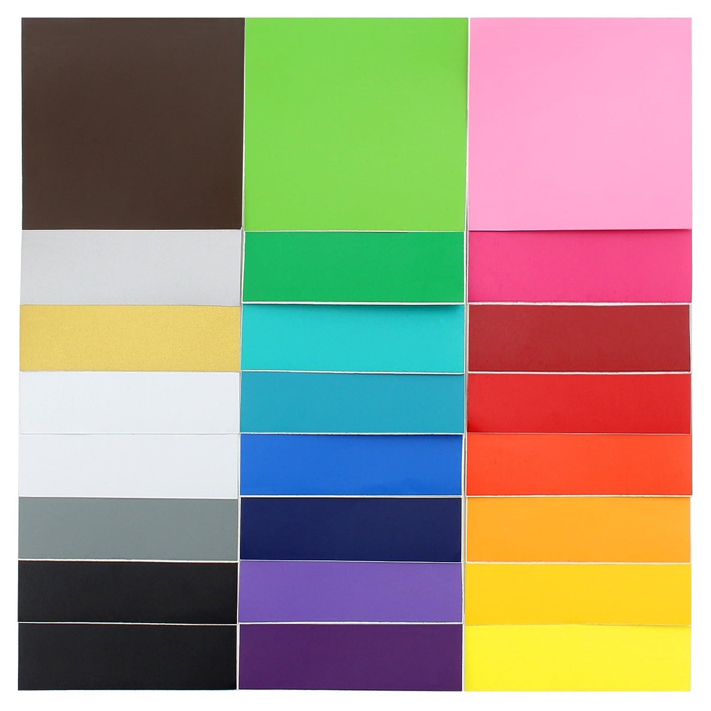 Oracal 631 Matte Vinyl 24 Pack of Top Colors 12 x 12 Sheets