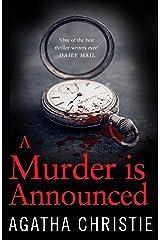 A Murder is Announced (Miss Marple) (Miss Marple Series Book 5) Kindle Edition