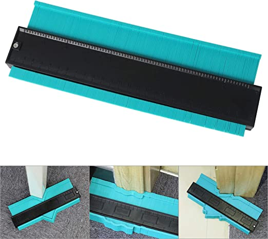 10-Inc General Tools 833 Plastic Contour Gauge Shape Duplicator Profile Gauge