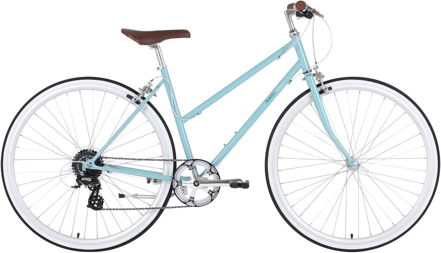 BOBBIN Blackbird Bicicleta Urbana, Mujer, Azul (Light Teal), 43: Amazon.es: Deportes y aire libre