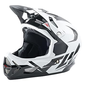 Fly Racing Downhill – Casco para bicicleta de montaña werx Ultra Color Blanco/Negro/