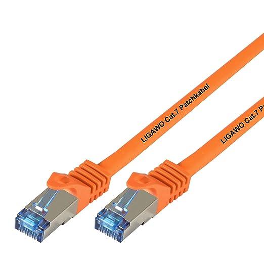 52 opinioni per Ligawo- Cavo di rete Cat.7 per dispositivi con connessione di rete / Internet di