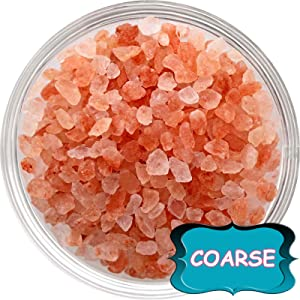 100% Natural Pink Himalayan Salt Pure Gourmet Crystals Nutrient and Mineral Fortified for Health (Coarse Grain) (2)