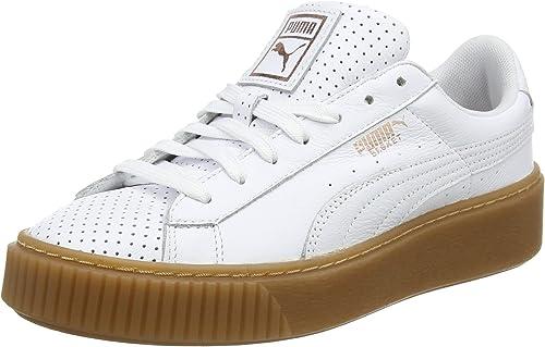 PUMA Damen Basket Platform Perf L Sneaker