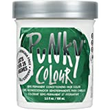 Punky Alpine Green Semi Permanent Conditioning Hair Color, Non-Damaging Hair Dye, Vegan, PPD and Paraben Free, Transforms to