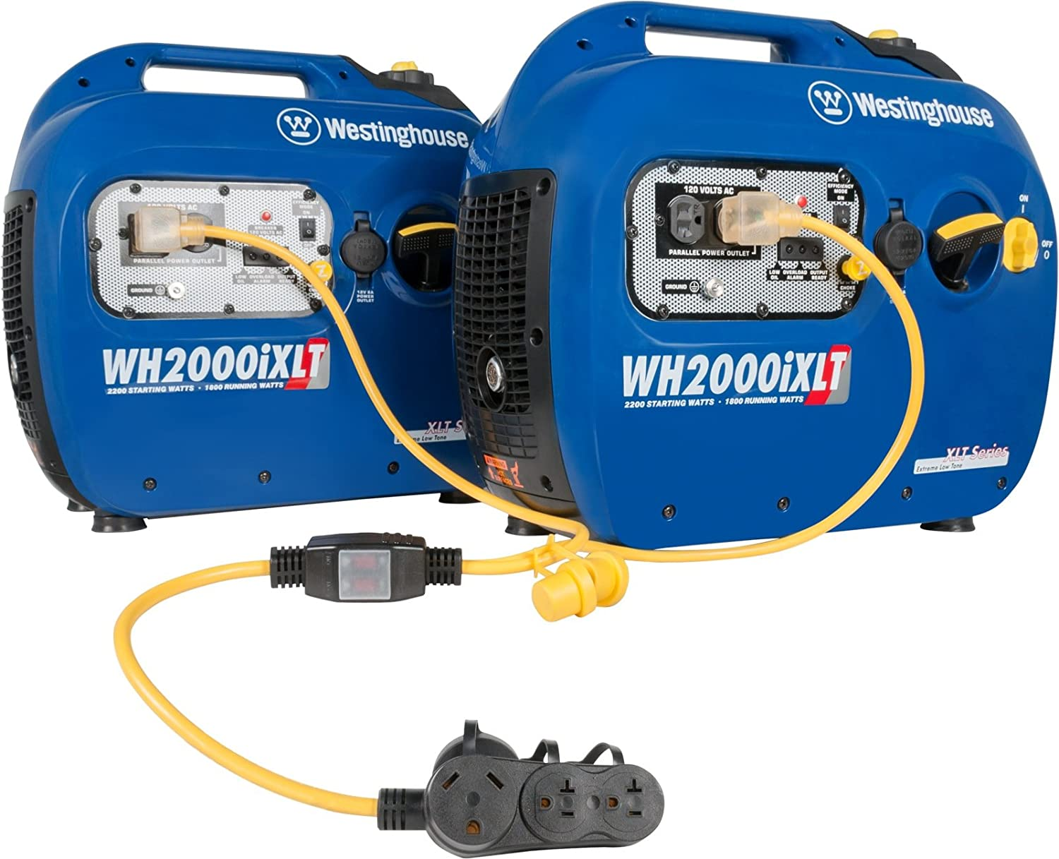 Westinghouse Inverter Generator Parallel Cord Wire Outlets In Series Or Paralleltrailer Light Diagram 7 Pin Compatible With Igen1200 Igen2200 Igen2500 Wh2200ixlt And Wh2400i Generators