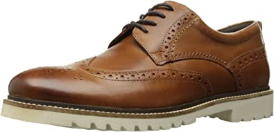 Amazon.com | Rockport Men's Marshall Wingtip Oxford | Oxfords
