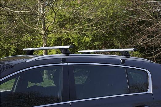 UKB4C Aluminium Locking Roof Rack Cross Bars fits Ford Mondeo 2014-2020 MK5 Estate