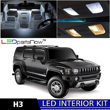Amazon.com: LEDpartsNow 2005-2010 Hummer H3 LED Interior Lights ...