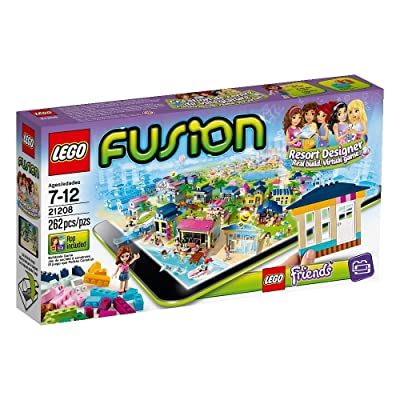 LEGO Fusion Set 21208 LEGO Friends Resort Designer: Toys & Games