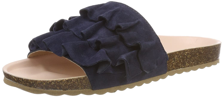 Esprit Lisa Slide, Mules para Mujer 40 EU|Azul (Navy)