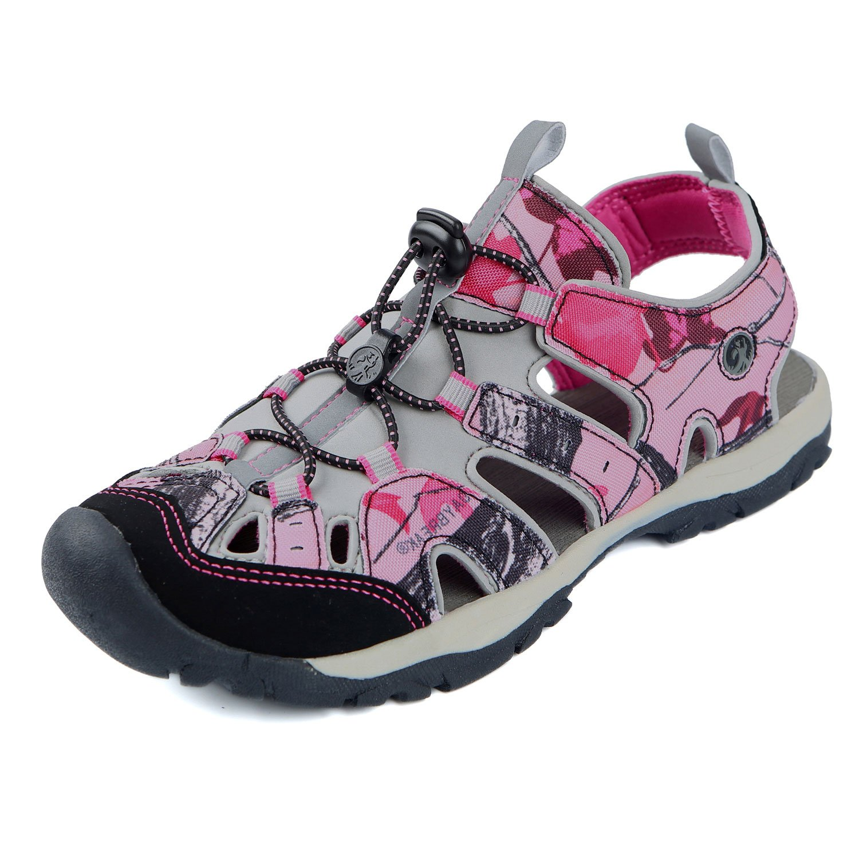 Northside Womens Burke II Sport Athletic Sandal B07BZQB13B 38 M EU / 7 B(M) US|Pink Camo
