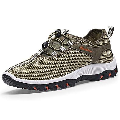 d1040d88590822 Generic Herren Sneaker Atmungsaktiv Sneakers Weichem Mesh-Klettern Schuhe  Ultraleichte Wandern Schuhe Sport  Amazon.de  Schuhe   Handtaschen