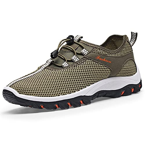 low cost 87707 69dd0 CHNHIRA Men s Trainers Breathable Sneakers Soft Climbing Hiking Shoes Sports