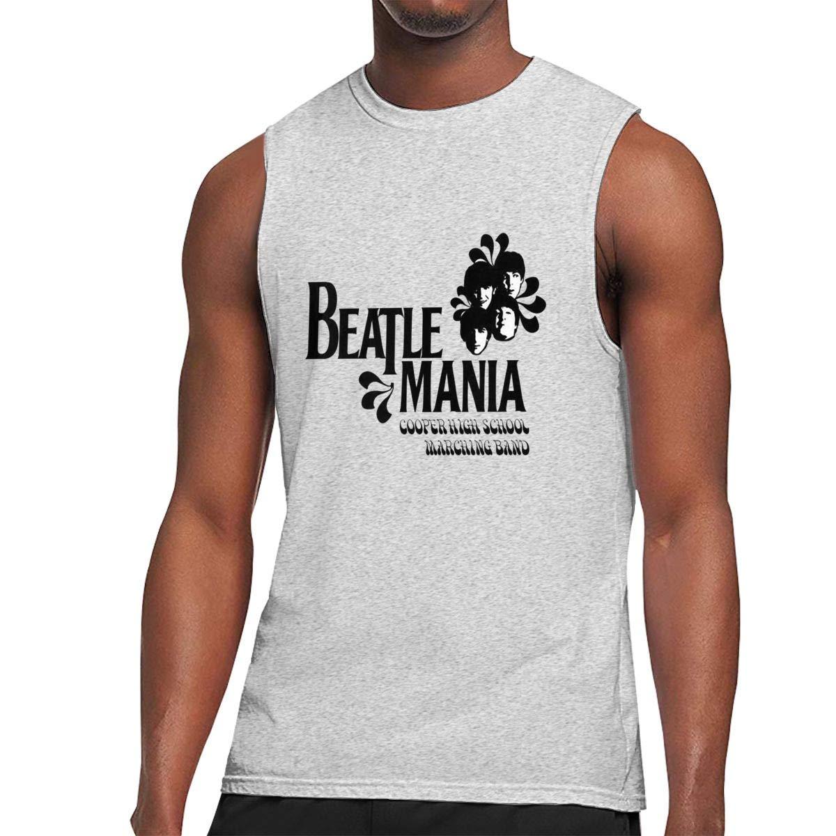 Hughhd Kirkid Mens Tank Top T Shirt The Beatles Abbey Road Funny