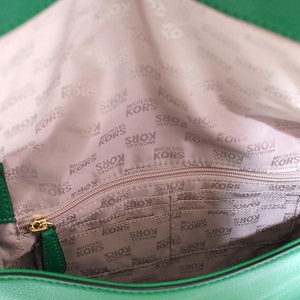 15ffd0276f3f Beverly Genuine Leather Oversized Clutch/ Shoulder Bag Gooseberry (Green)  #38S3XBVC3L. Michael Kors Beverly Genuine Leather Oversized Clutch/ Shoulder  Bag ...