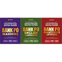 COMBO BANK PO ALL EXAMS (REASONING/ENGLISH/QUANTITATIVE APTIUDE) SET OF 3 BOOKS 2018-19 EXAMS