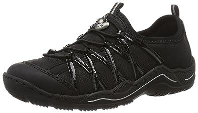 Rieker Damen L0559 Sneakers  37 EUPazifik/Adria/Royal/Silverflower / 14