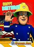 Fireman Sam FS002 Carte d'anniversaire Sam le Pompier