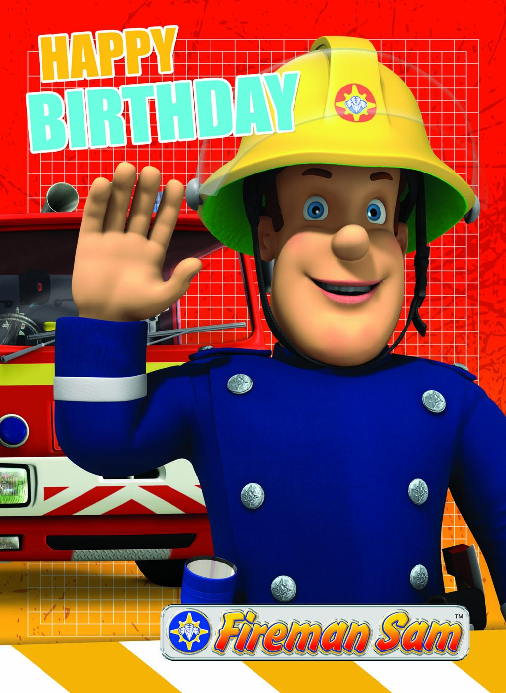 Amazon Fireman Sam Birthday Card Toys Games – Fireman Sam Birthday Cards