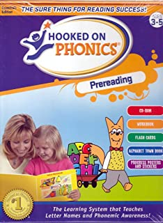Amazoncom Hooked On Phonics Learn To Read Pre K Edition
