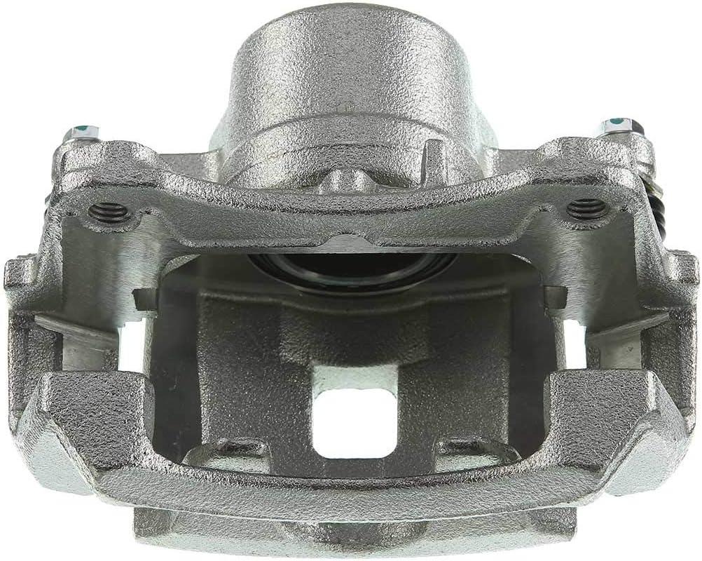 A-Premium Brake Caliper with Bracket Compatible with Chevrolet Cobalt HHR Pontiac G5 Saturn Ion 2004-2010 Front Passenger Side