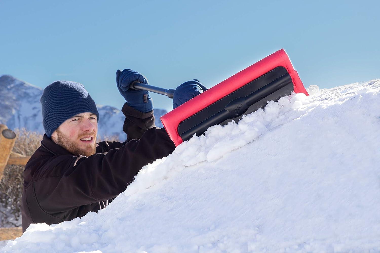 Hopkins 18841 SubZero 46 Heavy-Duty Telescopic Arctic Plow Snowbroom with Grip
