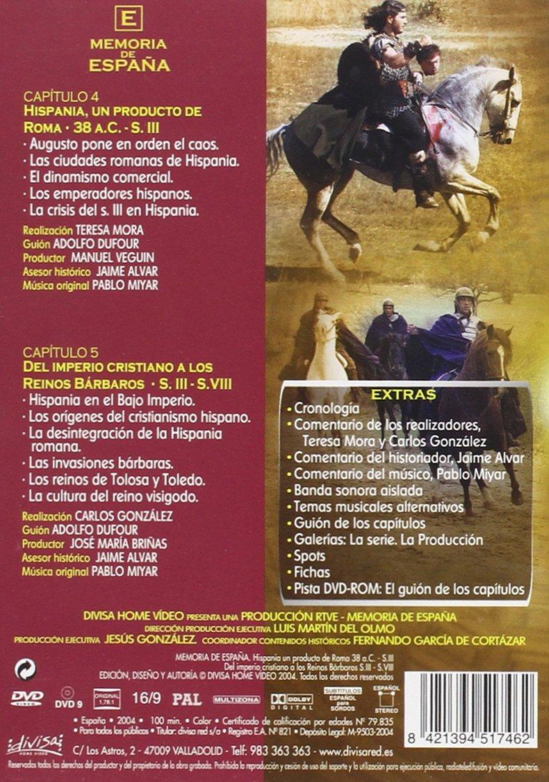 Memoria De España Vol. 3 [DVD]: Amazon.es: Varios: Cine y Series TV