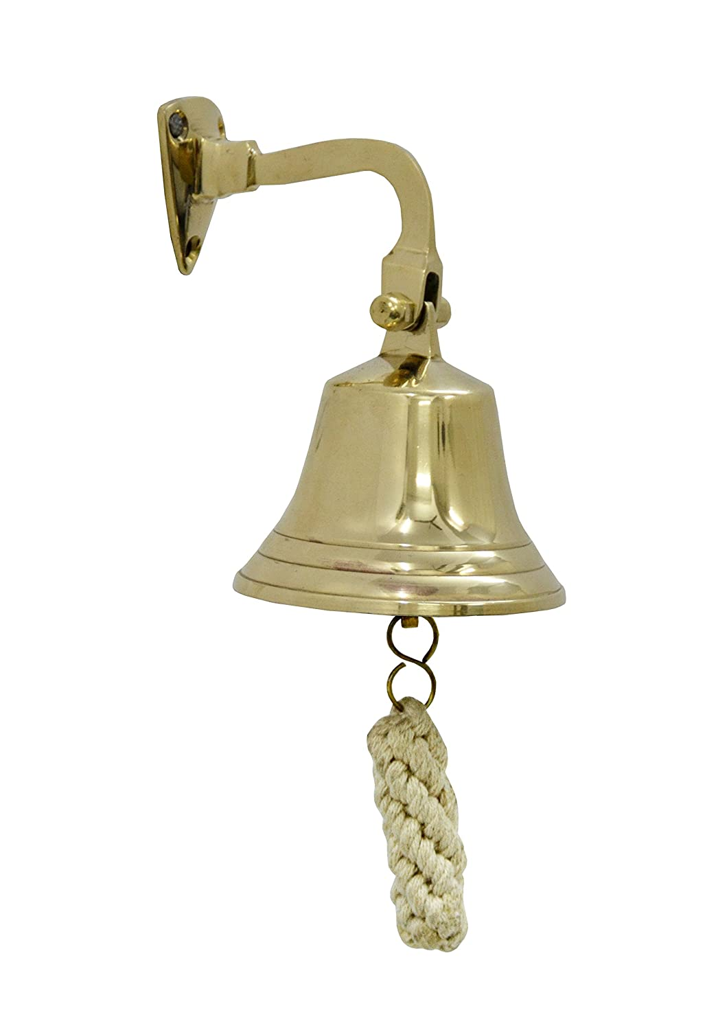 Brass Nautical Brass Ship Bell - Nautical Bells (4 inches) 98061 4in