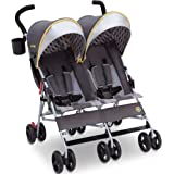 Jeep Scout Double Stroller by Delta Children, Spot On , 23.4x29.9x37 Inch (Pack of 1)