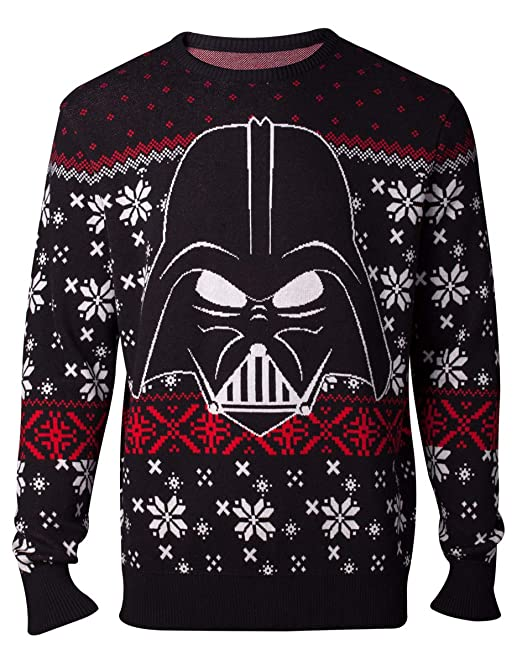 Star Wars Jumpers Darth Vader Knitted Men's Sweater: Amazon