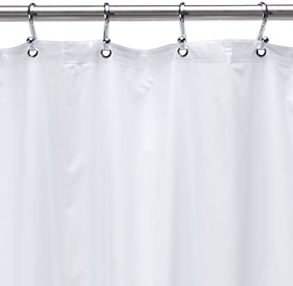 54 Inch By 78 Premium Weight Stall Shower Curtain Liner