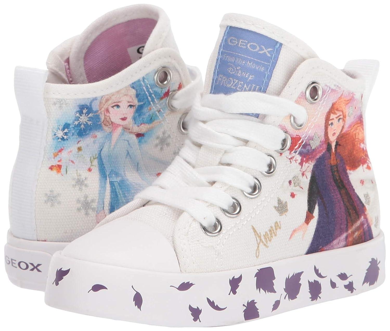 Geox Kids Girl's Frozen Ciak 73 (ToddlerLittle Kid) White