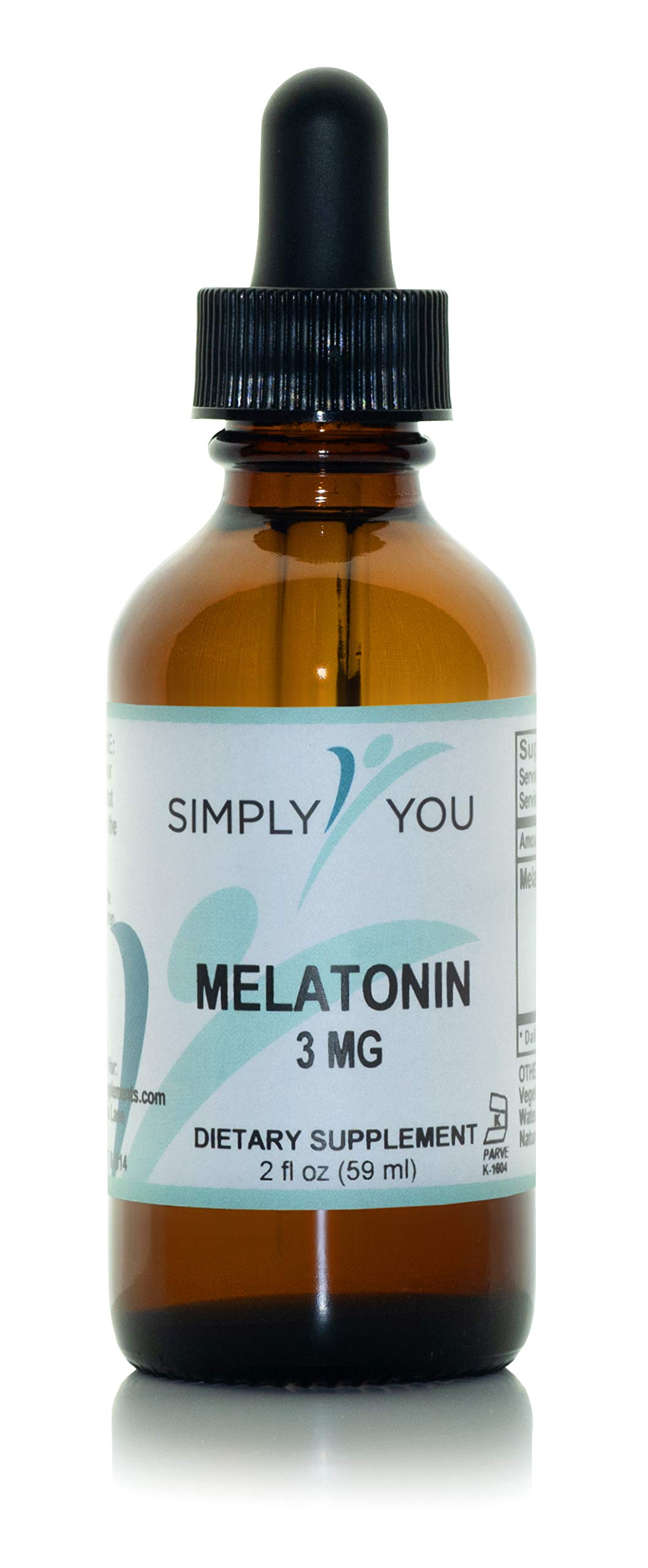 Melatonin by Simply You | Natural, Liquid Sleep aid Supplement for Adults | Organic,