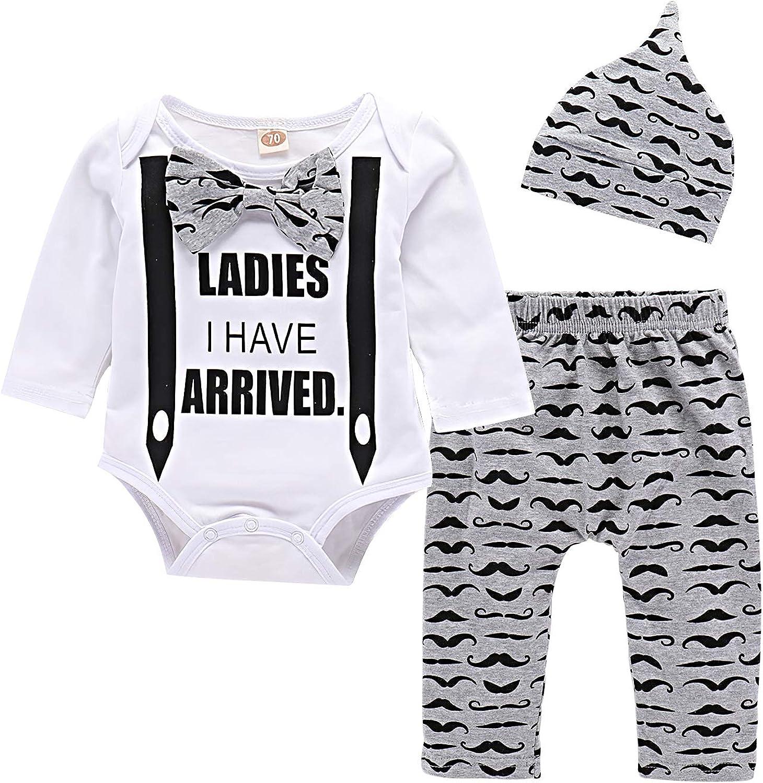 Yilaku Ropa Bebe Recién Nacido Ropa de Primavera y Verano Bebé Niño Niña Camiseta Tops Camisas niños + Pants Pantalones 2 Pcs Conjunto de Ropa