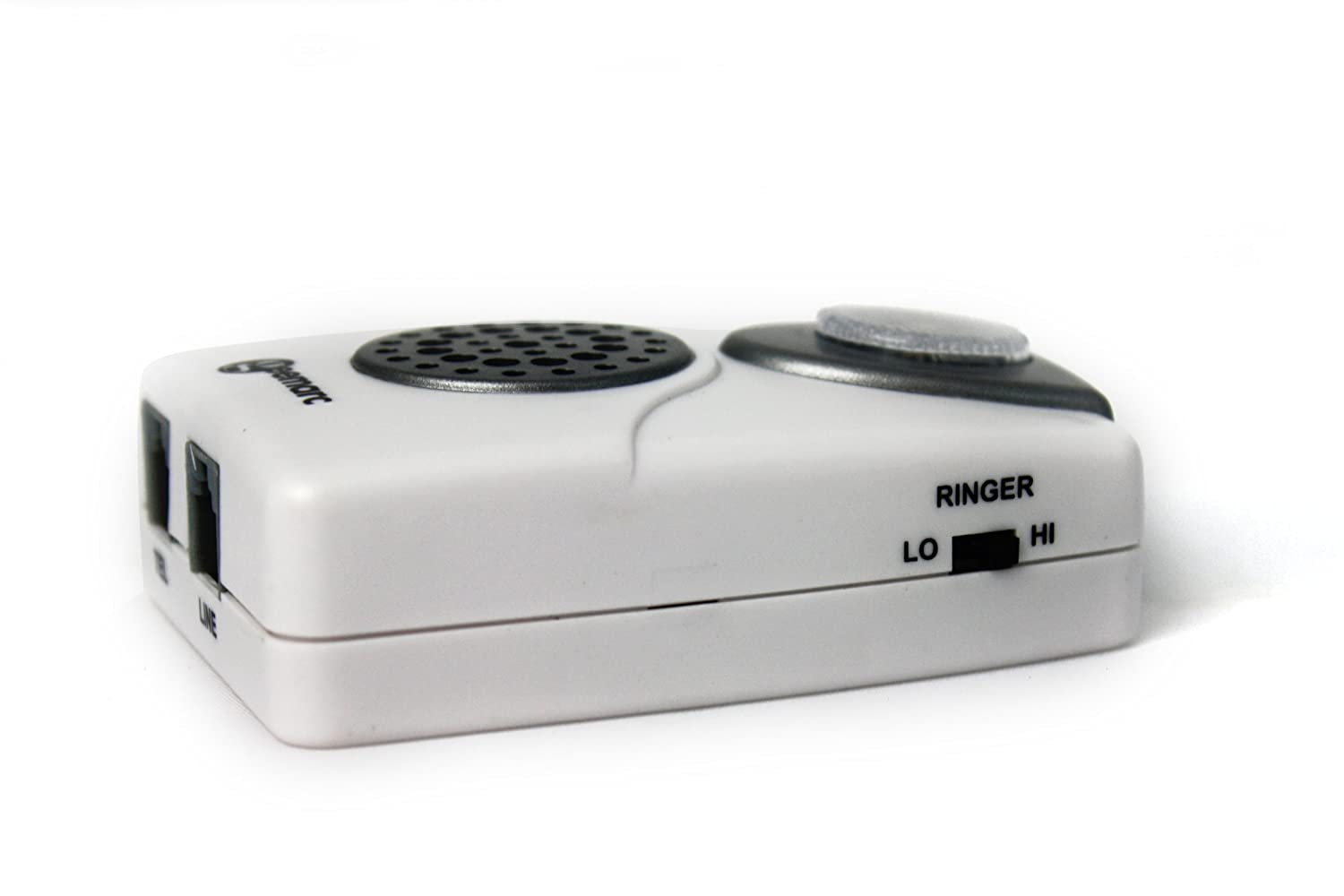 Geemarc CL11 Telephone Ringer Amplifier with EXTRA BRIGHT LED White UK Version