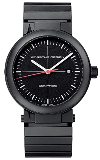 Porsche Reloj analogico para Hombre de Cuarzo con Correa en Acero Inoxidable 6520.13.41.0270: Amazon.es: Relojes