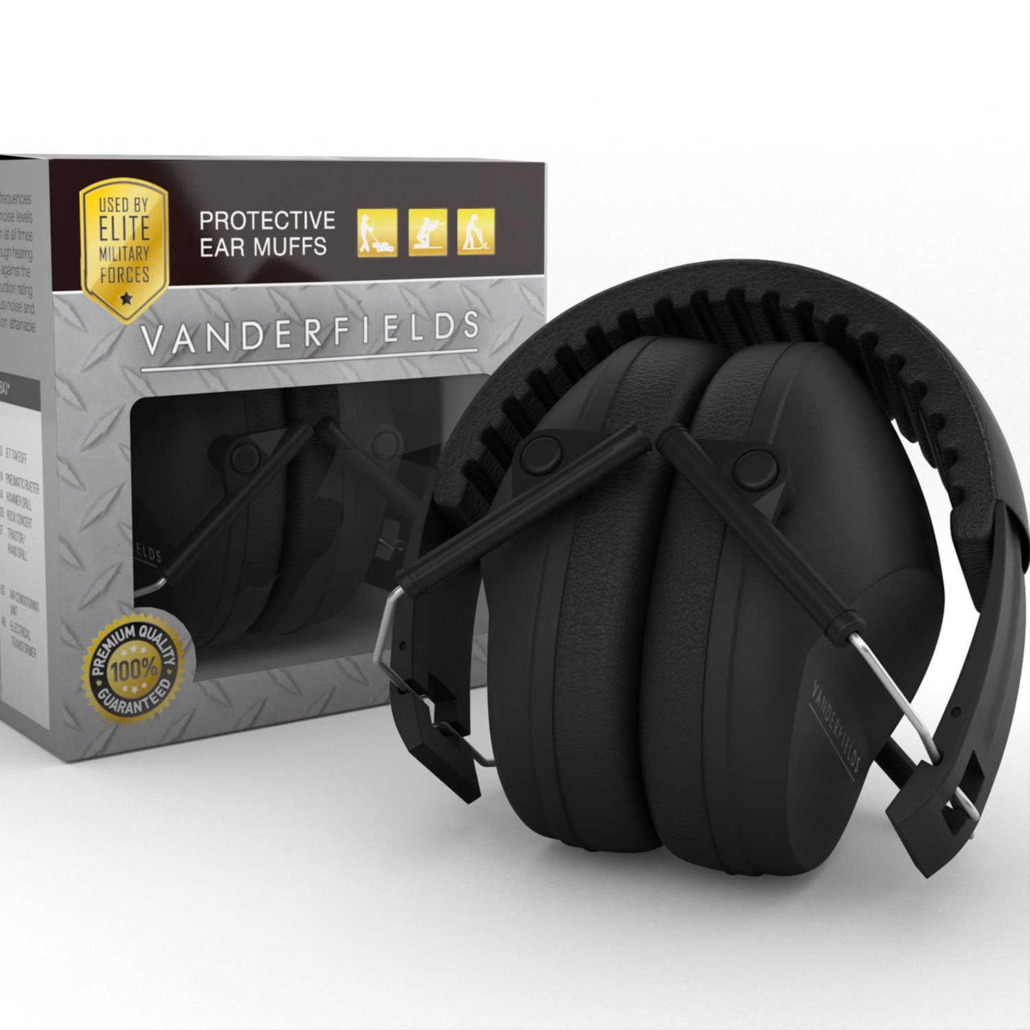 Shooting Ear Muffs Hearing Protection Safety Muff Sound ...