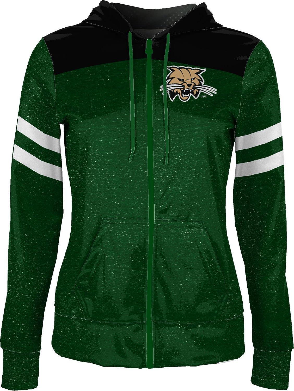 School Spirit Sweatshirt Game Time Ohio University Girls Zipper Hoodie