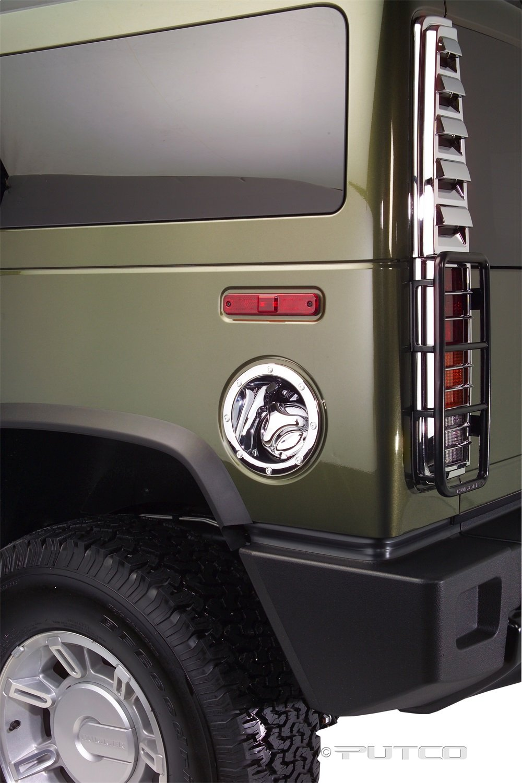 Putco 400930 Silver Chrome Trim Tank Cover